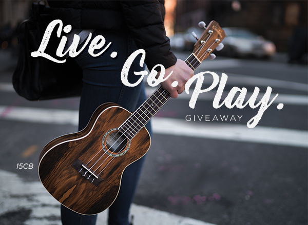 Win a Uke for You & a Friend with the Live  Go  Play